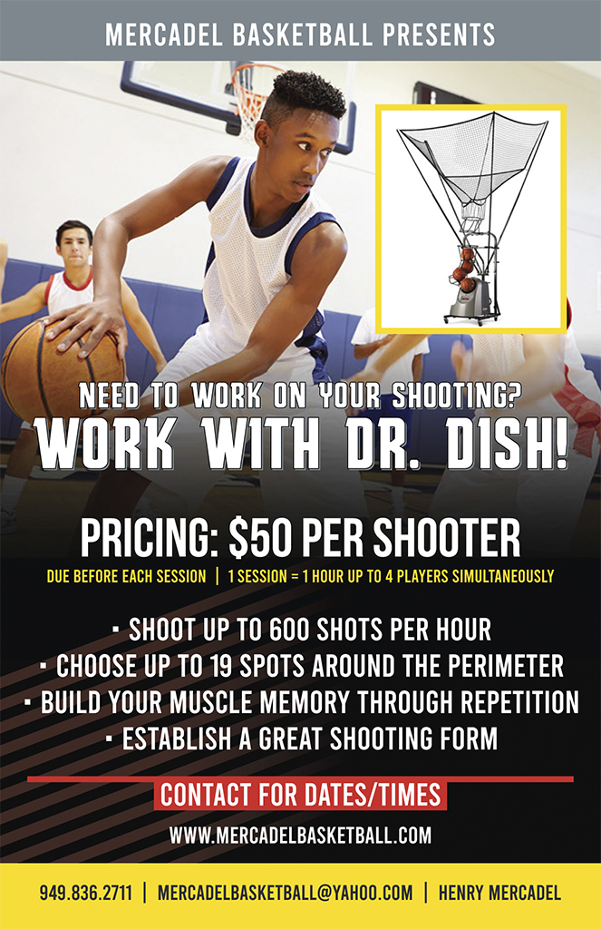 basketball shooting clinic flyer