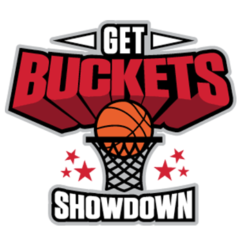 get buckets showdown basketball tournament logo