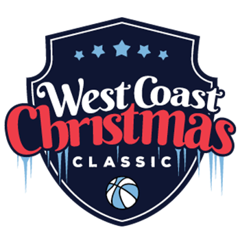 west coast christmas classic basketball tournament logo