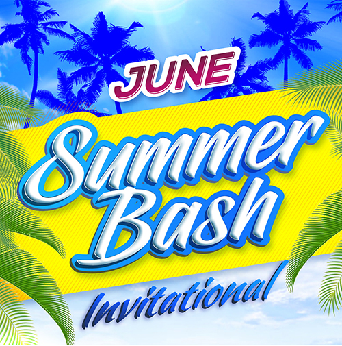 summer bash invitational basketball tournament logo