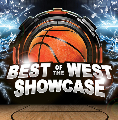 best of the west showcase basketball tournament logo
