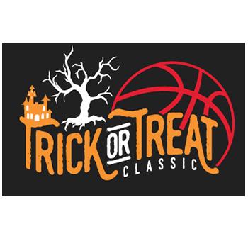 trick or treat classic basketball tournament logo
